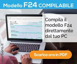 Modello f24 editabile scaricare