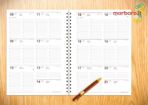 agenda scolastica 2016 2017 settimanale da stampare