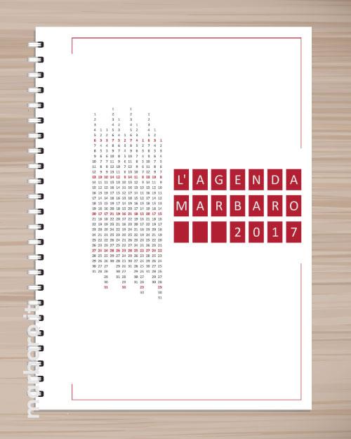 Super Agenda 2017 settimanale da stampare. Scarica gratis il PDF JK37