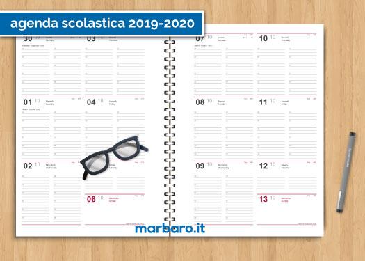 Calendario Agosto 2020 Da Stampare.Scarica La Tua Agenda 2020 Da Stampare