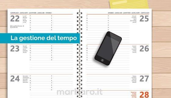 Agenda per organizzare la giornata
