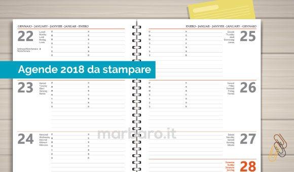 Populaire Applicazioni Excel, calendari, cartelli e moduli da stampare ZH14