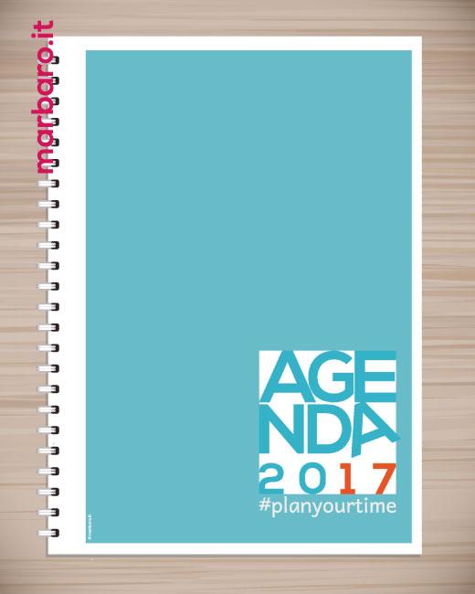 Agenda stampabile 2017 agenda settimanale da scaricare gratis - Agenda da tavolo 2017 ...
