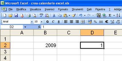 Come Fare Un Calendario.Come Creare Un Calendario Con Excel Con Le Funzioni Presenti