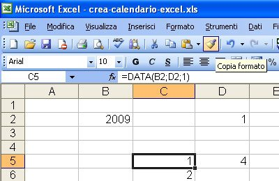 Copia Formato in Excel