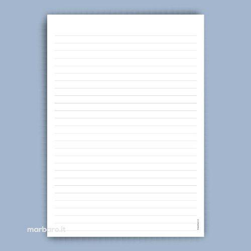 Block notes da stampare fogli block notes da scaricare gratis for Fogli da colorare e stampare