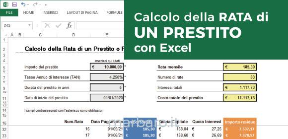 Calcola rata top calcola rata agos con ducato special for Finanziamento della costruzione di nuove case
