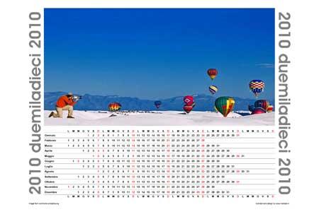 Calendario illustrato 2010
