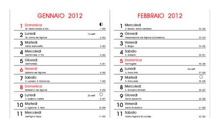 Calendario 2020 Con Santi E Fasi Lunari.Calendario Con Fasi Lunari