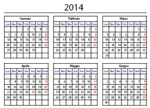 Calendario 2014 Corel Draw