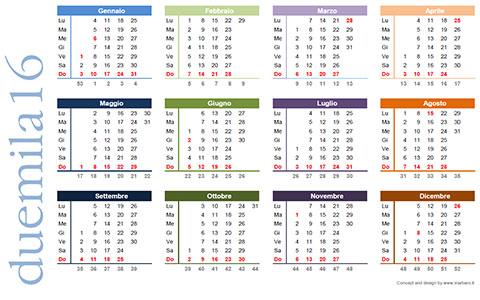 Calendario Con Numero Settimane.Calendario Con Numero Settimane Calendario 2020