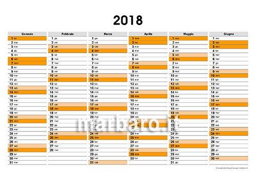 Calendario Anno 2018 Pdf.Planner 2018 Da Stampare Scarica Adesso Il Tuo Planner