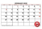 Calendario Gennaio 2020.Festivita 2020 In Italia Calendario Giorni Festivi E Ponti
