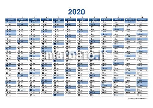 Pdf Calendario 2020.Planner 2020 Da Stampare Scarica Il Tuo Calendario Planner