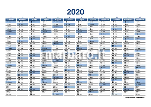 Calendario Gennaio 2020 Da Stampare.Planner 2020 Da Stampare Scarica Il Tuo Calendario Planner