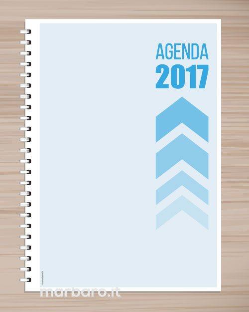 Agenda stampabile giornaliera in a4 o a5 da scaricare in pdf - Agenda da tavolo 2017 ...