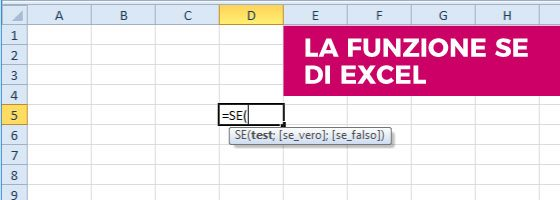 La Funzione SE in Excel