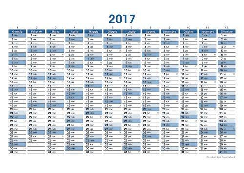 Modelli Calendari Excel   Calendar Template 2016