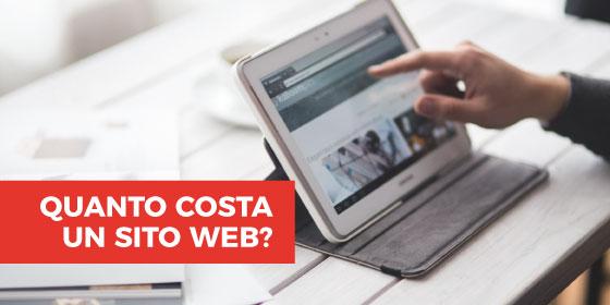 Quanto costa un sito Web? Dipende ...